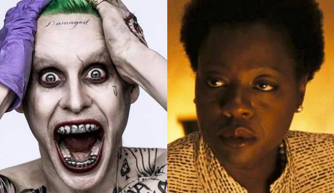 Joker Amanda Waller Jared Leto Viola Davis