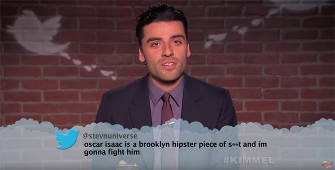 Mean Tweets Movies Edition Features Oscar Isaac, Emily Blunt, More