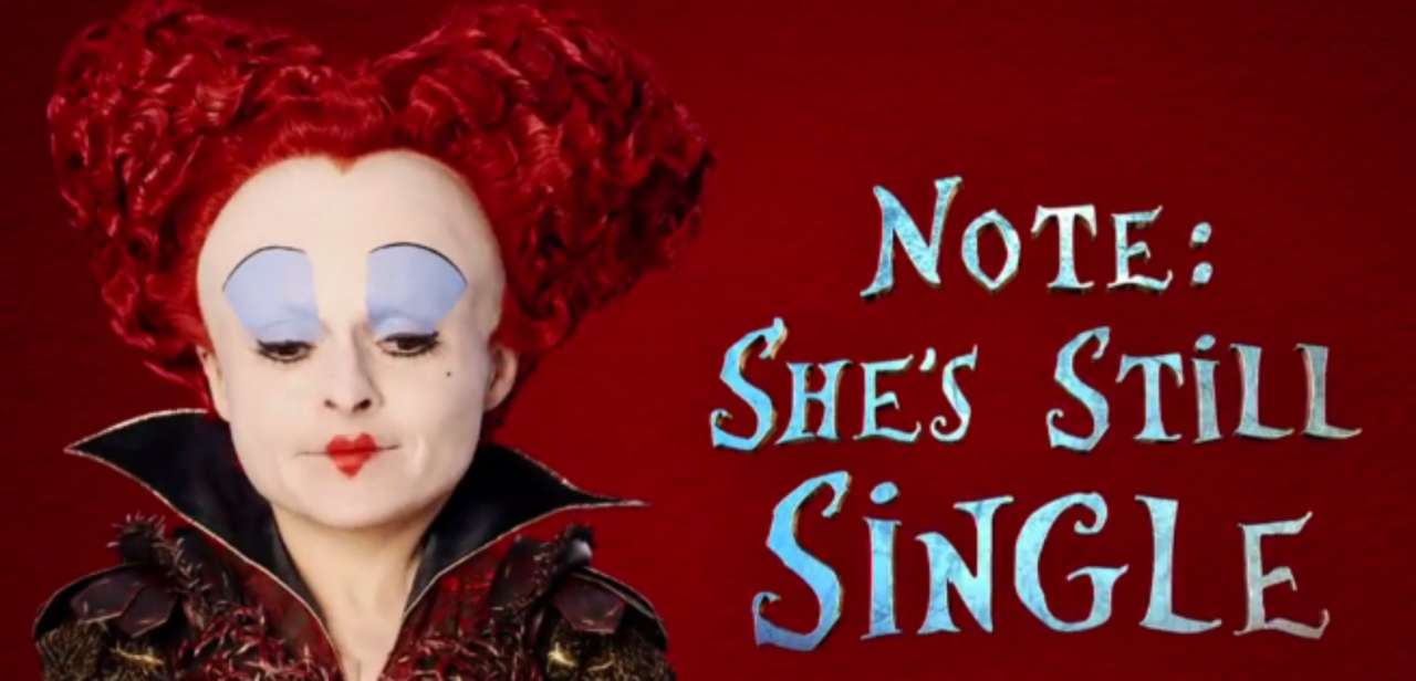 New Valentines Day Promo For Disneys Alice Through The Looking Glass