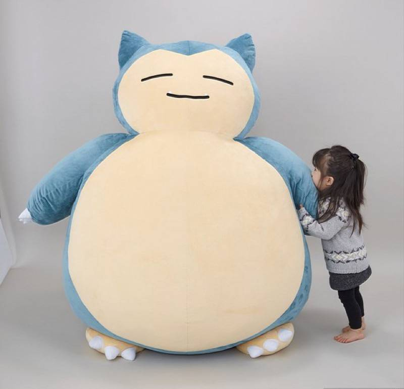 Pleasant Parent Finds Creative Use For Massive Snorlax Bean Bag Chair Andrewgaddart Wooden Chair Designs For Living Room Andrewgaddartcom