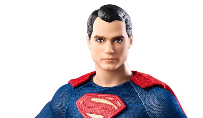 Superman Barbie