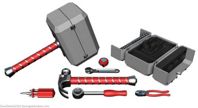 Thors Hammer Tool Kit Concept Created