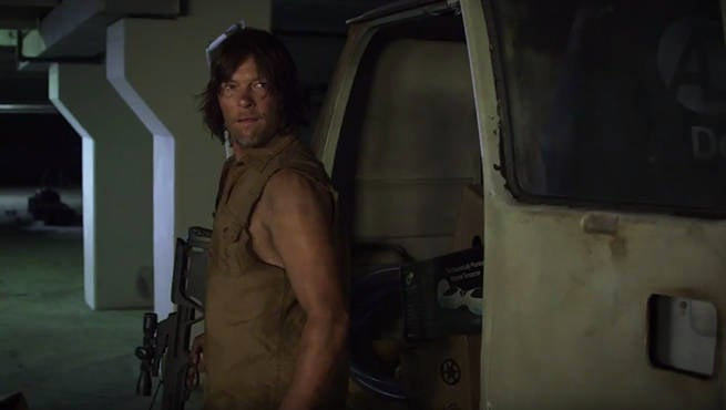 TWD Norman Reedus Hoverboard Zombies