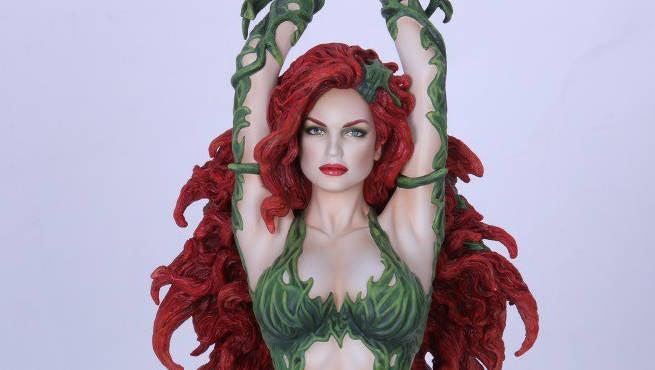 Yamato Toys Unveils Poison Ivy Dc Collectibles Statue