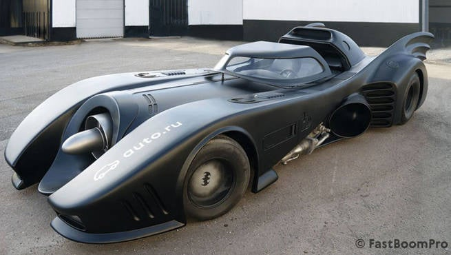 Original Tim Burton Batmobile On Sale For $1 Million