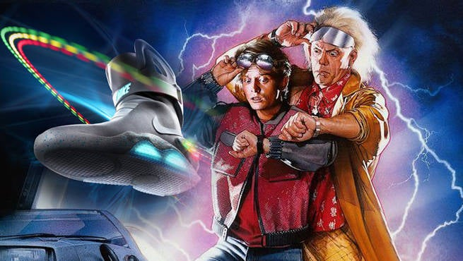 Back To The Future Nike Header