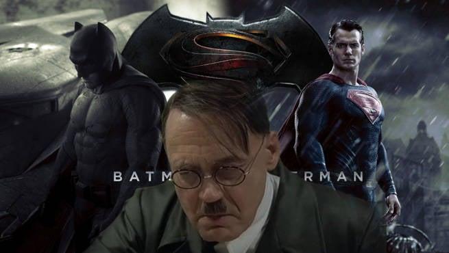 Batman Superman Hitler