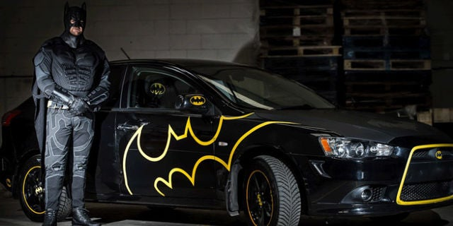 BatmanFanBatmobile