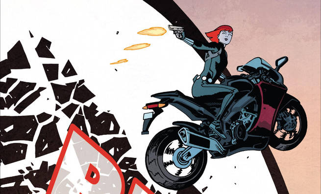 Black Widow Samnee Cover
