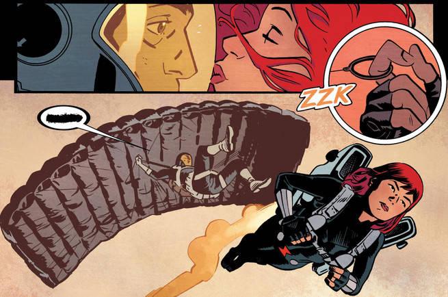 Black Widow Samnee Kiss