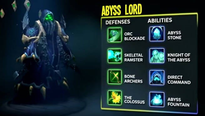 DD Abyss Lord Powers