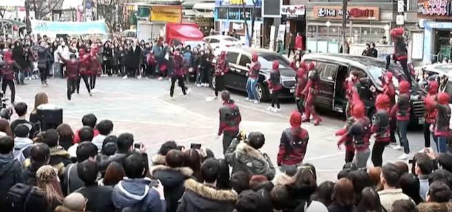 Deadpool-flashmob