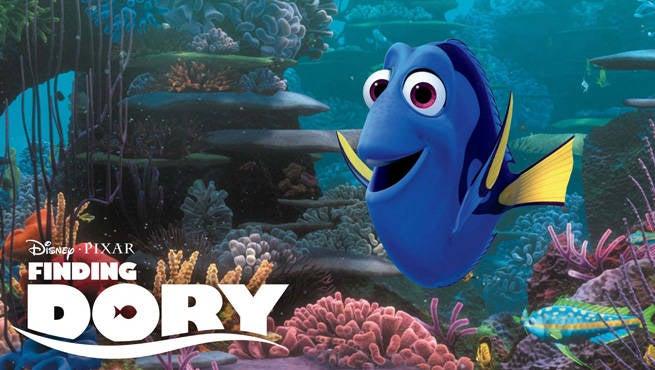 Finding Dory Header