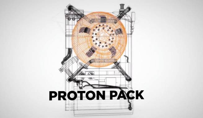 Ghostbusters Proton Pack]