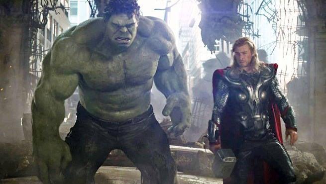 Hulk Thor AvengersHeader
