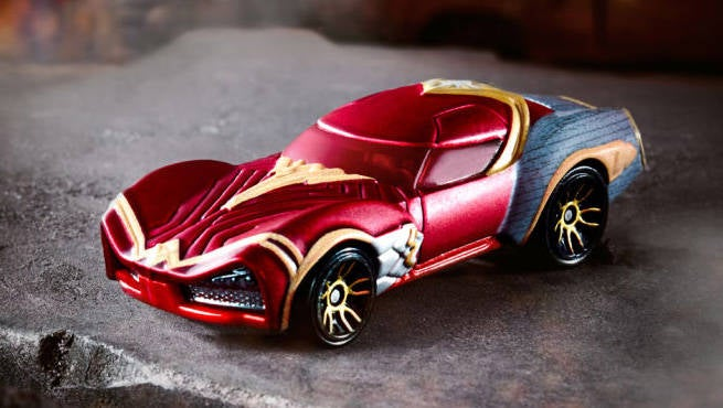 HW Wonder Woman Car