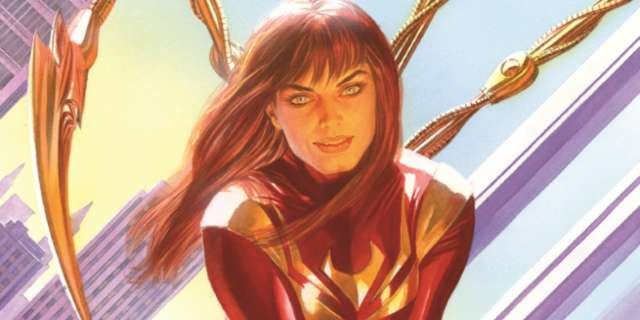 EXCLUSIVE: Mary Jane Dons Iron Spider Armor On Amazing ...