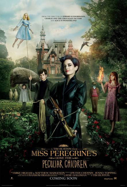 Miss Peregrine's Home For Peculiar Children Trailer Released