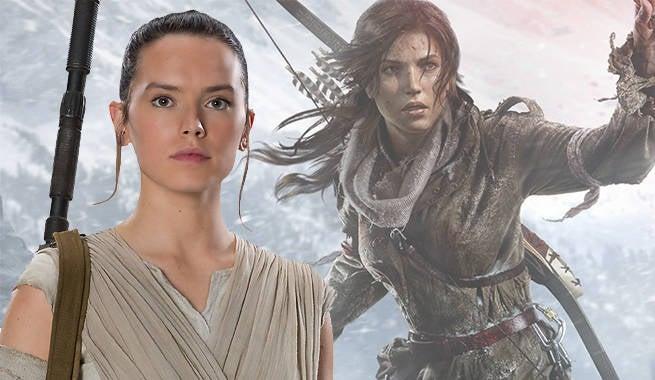 Daisy Ridley Confirms Tomb Raider Talks