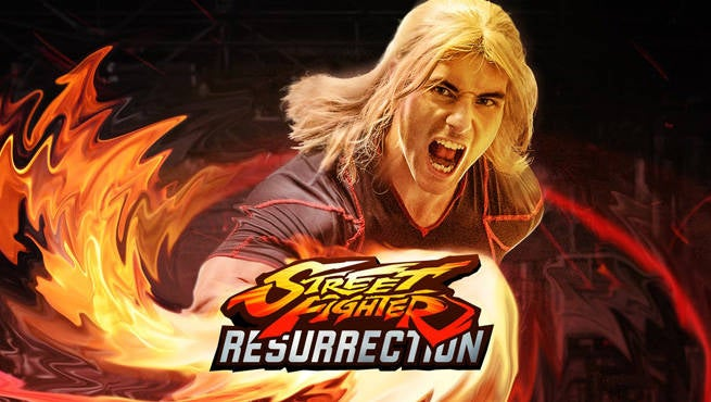 Street Fighter Resurrection Deutsch