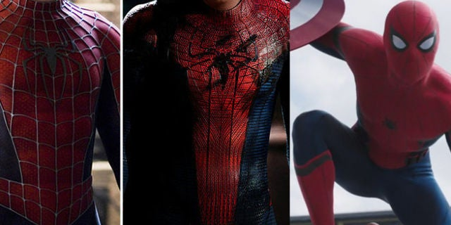 How Spider-Manu0027s Costume in Captain America Civil War Differs From Whatu0027s Come Before & How Spider-Manu0027s Costume in Captain America: Civil War Differs From ...