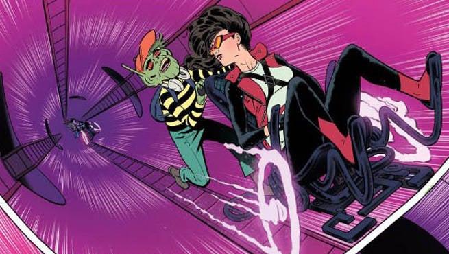 SpiderWoman#4Cover
