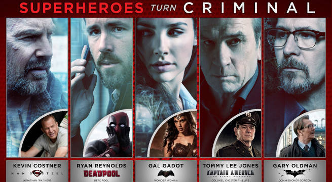 Your Favorite Superheroes Have Gone Criminal In New Fan Infographic