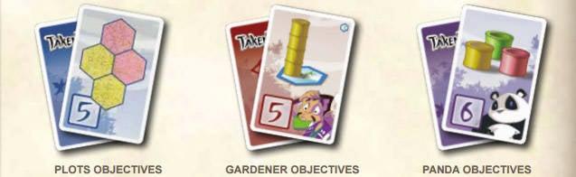 Takenoko Objective Cards
