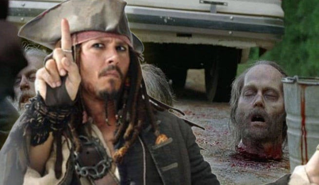 TWD Johnny Depp