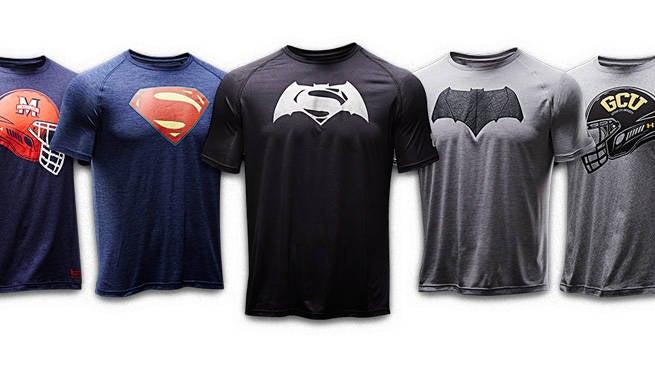 Lækker Under Armour Unveils New Batman V Superman Line RU-12