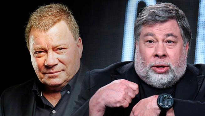 Watch Will Shatner & Steve Wozniak Debate Science Vs Science Fiction