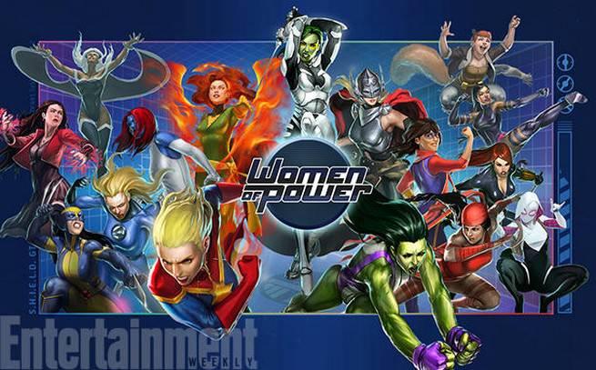 Marvel Women of Power