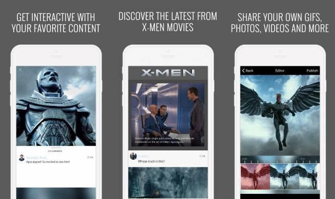 X-Men Movies App