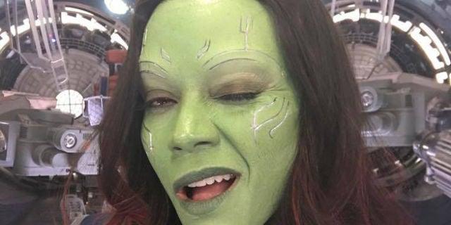 Zoe Saldana Shares Gam...