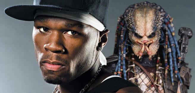 50 Cent Hints He's Part of New Predator Movie