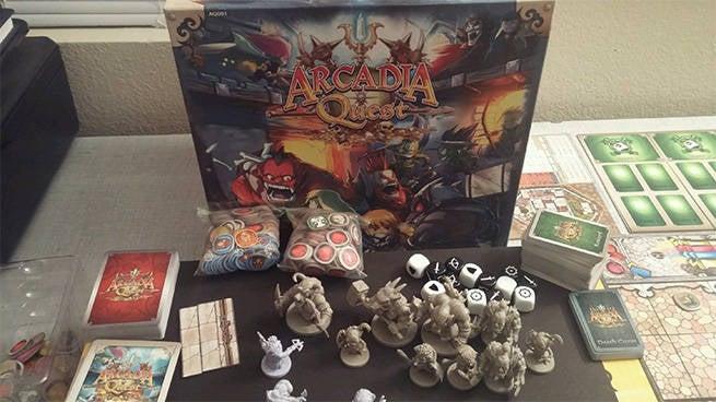 Arcadia Quest Box Shot