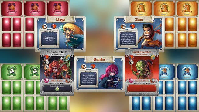 Arcadia Quest Factions And Characters
