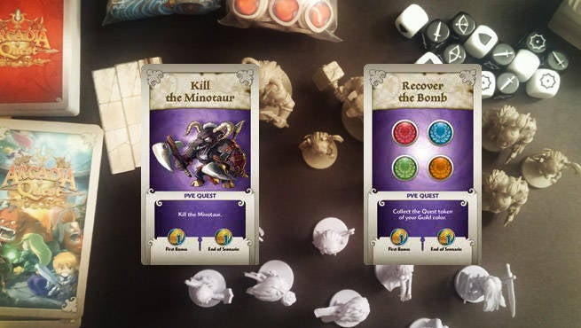 Arcadia Quest Objectives