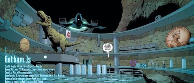 Batman #51 Interview Batcave