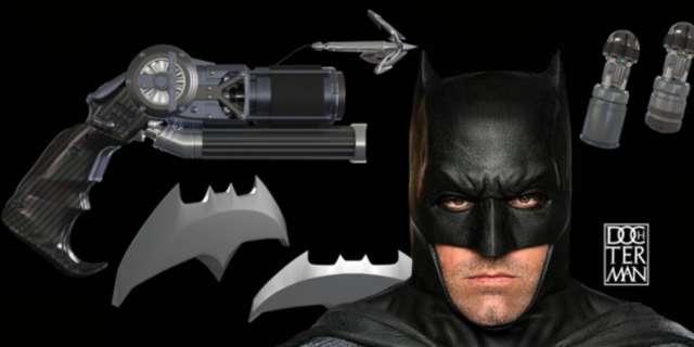 Concept Art Of Batman's New Gadgets For Dawn Of Justice