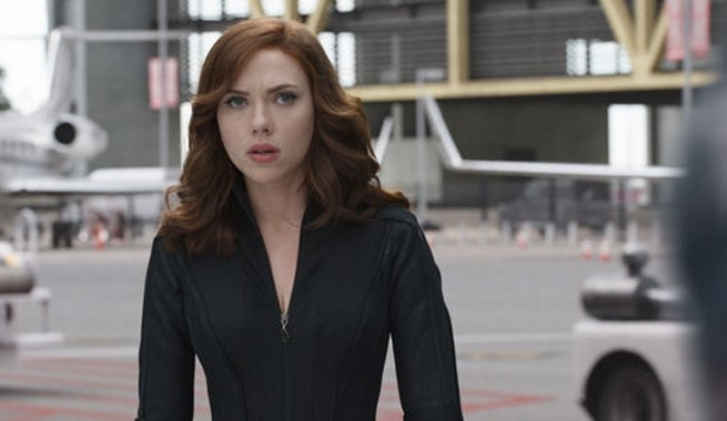 Black Widow - Captain America Civil War