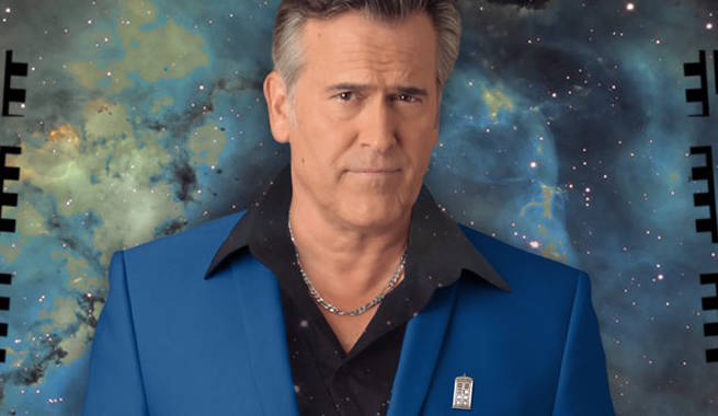 Bruce Campbell Announces a Doctor Who Special With Him as The Doctor