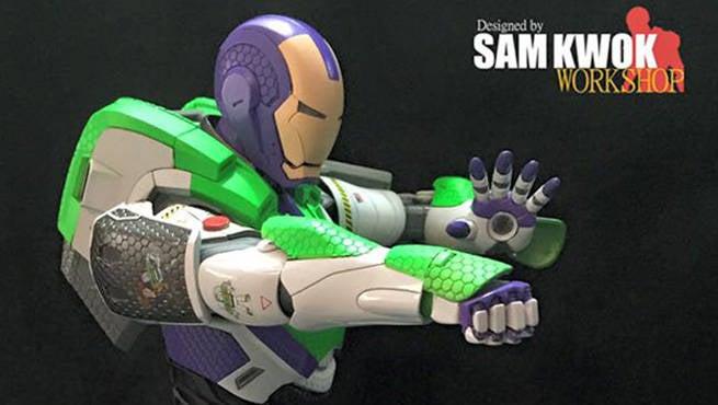 Buzz Lightyear Iron Man