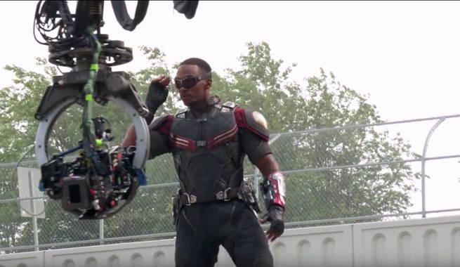 Captain America Civil War Falcon Featurette