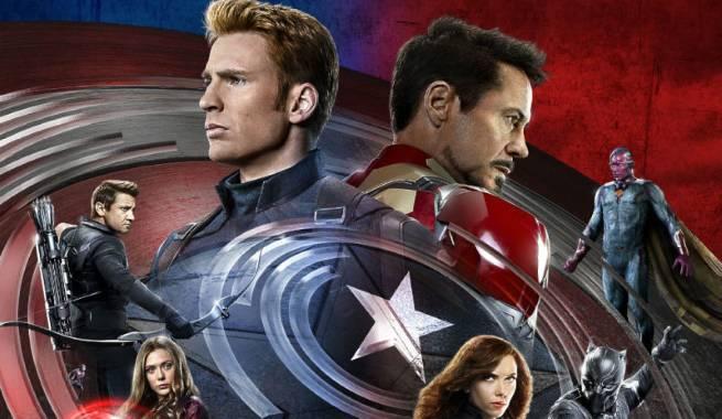 Captain America Civil War IMAX Poster Top