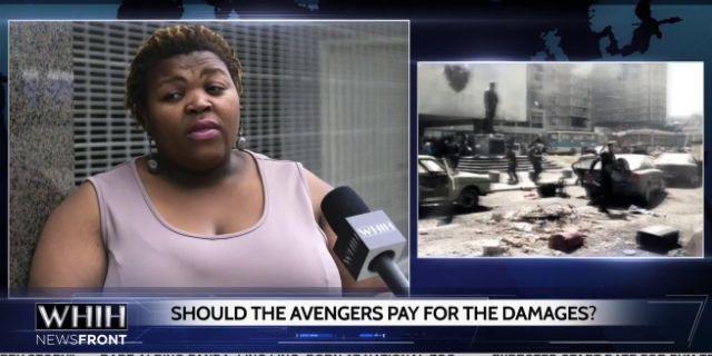 Captain America Viral Marketing