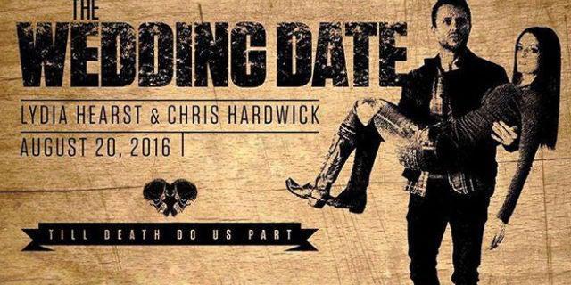Chris Hardwick Reveals His Walking Dead Inspired Wedding