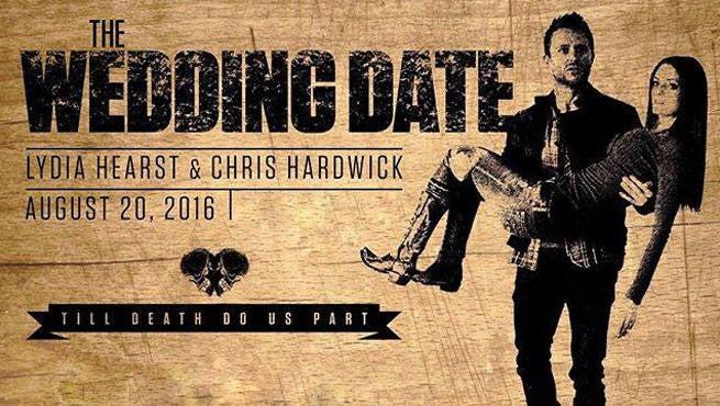 Chris Hardwick Wedding Date