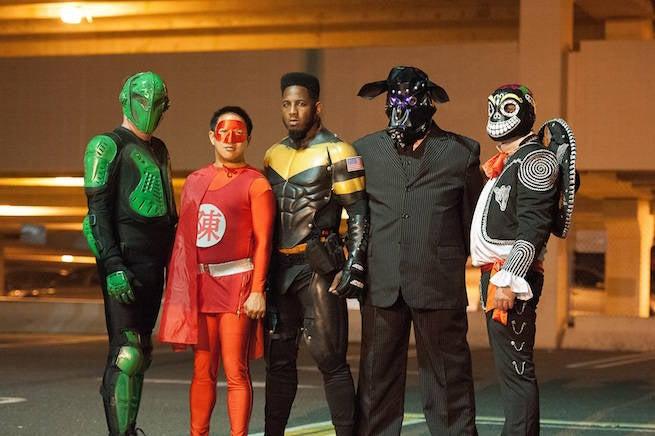 EXCLUSIVE Video: Phoenix Jones Comes to Comic Book Men's Season Finale
