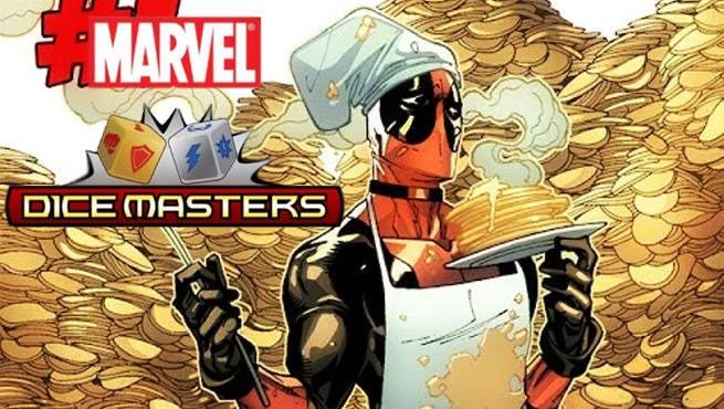 Deadpool Marvel Dice Masters